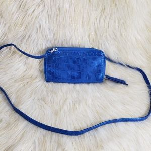 Buxton Wallet With Crossbody Strap